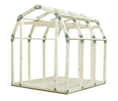 You'll love the 7ft W x 6 ft D Barn Roof Shed Kit at Wayfair - Great Deals on all Outdoor products with Free Shipping on most stuff, even the big stuff.