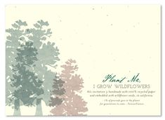 Red Wood Wedding Invitations with Trees (seed paper) Bear Wedding, Woodsy Wedding, Wedding In The Woods, Wood Wedding Invitations, Seed Paper, Red Wood, Winter Wonderland Wedding, Winter Weddings, Chalkboard