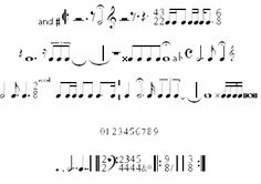 A bunch of free music fonts, including one for recorder fingerings!