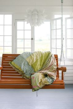 Bed linen and hanging seat
