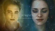Love this! Forever with Edward and Bella.. See Twilight Saga Merchandise follow Twilight Saga Tshirts and Gifts