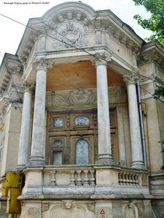 Viata strazii, case si case AA, 377 Bucharest Romania, Unique, Arquitetura, Impressionism, Cards
