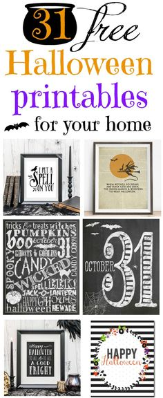 Free Halloween printables   My Mommy Style