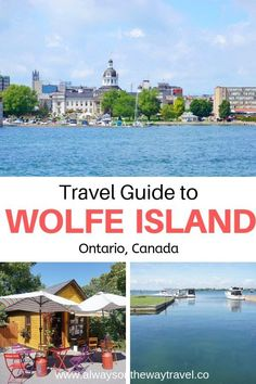 Wolfe Island is just cross the water from Kingston and it is a lesser-visited place in Ontario Canada. Here is a detail travel guide to this beautiful destination. Canadian Travel, Canadian Rockies, Ontario Travel, Kingston Ontario, Road Trip Adventure, Travel Design, Cool Places To Visit, Travel Guides, Travel Destinations
