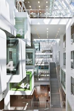 telus garden offices office mcfarlane. Gallery Of Telus Garden / Office Mcfarlane Biggar Architects + Designers Inc. - 17 | The Interior Your Moma Pinterest Vancouver Bc Canada, Offices B