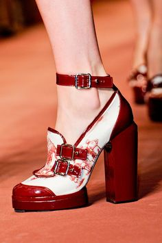 Spring/ Summer 2013 Shoe Trends - Chunky Heels