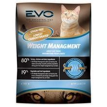 Evo Weight Management Dry Cat Food 15.4lb $43.46