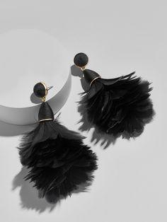 Parisian Feather Earrings