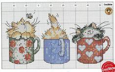 Как украсить вышивкой подставку для карандашей и ручек. Вышивка котиков / Мастер-класс
