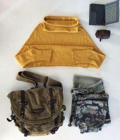 #giallo #senape #rappellissimo! #Magliapipistrello #tagliaunica  #rappel #secondhand #clothes #militare #cotone #cintura #marrone #jaune #moutarde #girlpower