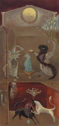 Leonora Carrington, mesmerizing.