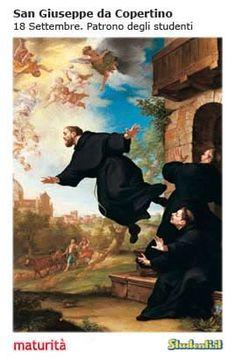 San Giuseppe Copertino, patrono studenti