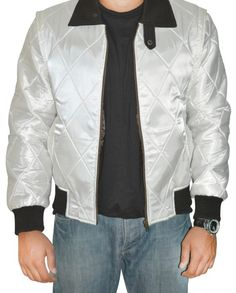 Here is another step for facilitation of our customers. We have designed a unique collection of quality Ryan Gosling Scorpion Drive Jacket replicas of your favorite stars! Ryan Gosling Drive, Golden Color, Scorpion, White Fabrics, Satin Fabric, Rib Knit, Shirt Style, Bomber Jacket, Leather Jacket