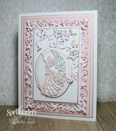 Pretty Pink Poinsettias by Loretta Lock | Spellbinders