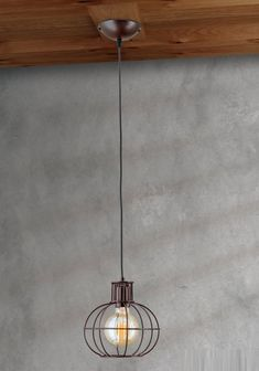 Lustra suspendata design industrial Emil HL 6-1619/1 Vintage OR - Corpuri de iluminat, lustre, aplice Ceiling Lights, Lighting, Vintage, Home Decor, Pendulum Clock, Decoration Home, Room Decor, Lights, Vintage Comics