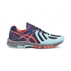 Asics Gel FujiAttack 5 T680N hardloopschoenen dames aqua splash @asicseurope #asics #running #hardloopschoenen