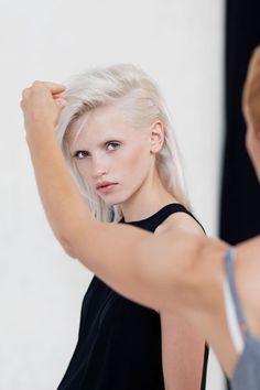 White blonde