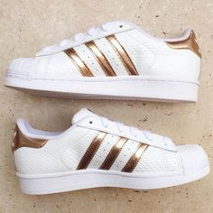 Adidas Superstar Metallic Blue
