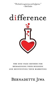 Difference: The one-page method for reimagining your business and reinventing your marketing eBook: Bernadette Jiwa: Kindle Store Reading Lists, Book Lists, Books To Read, My Books, First Page, Content Marketing, The One, Audio Books, Love Story