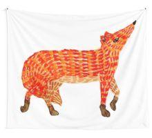 Adorable Fox Wall Tapestry Orange Art, Red Art, Nursery Paintings, Nursery Art, Framed Prints, Canvas Prints, Art Prints, Original Artwork, Original Paintings