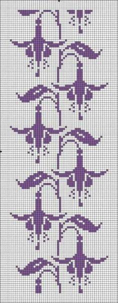 Cross Stitch Bookmarks, Cross Stitch Borders, Cross Stitch Flowers, Cross Stitch Charts, Cross Stitching, Cross Stitch Embroidery, Embroidery Patterns, Cross Stitch Patterns, Crochet Cross