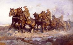 Gurney Journey: H. Septimus Power's Horse Paintings