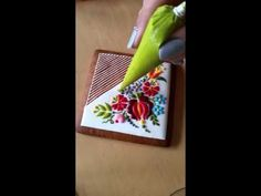 Royal Icing Embroidery