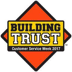 Official 2017 Customer Service Week Logo