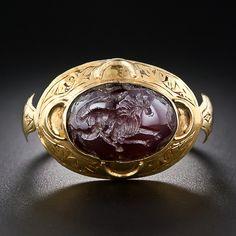 Gent's Carnelian Intaglio - 30-1-5074 - Lang Antiques
