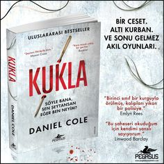 YENİ KİTAP│KUKLA - DANIEL COLE  Çeviri: Ali Sinan Çulhaoğlu / Psikolojik Gerilim / 416 Sayfa https://urun.n11.com/roman/kukla-P227227593?utm_content=buffer57f61&utm_medium=social&utm_source=pinterest.com&utm_campaign=buffer 05 Ocak'ta satışta!