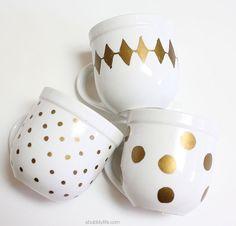 Dishwasher Safe Sharpie Coffee Mugs | A Bubbly Life: Dishwasher Safe Sharpie Coffee Mugs