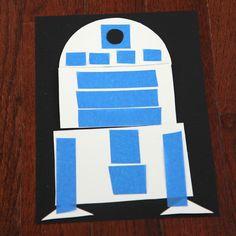 Toddler Approved!: Star Wars Shape Crafts