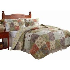 #1: Greenland Home Blooming Prairie Full/Queen Quilt Set