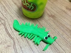 Another scary playdough creature!!!