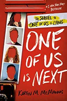 Young Adult Fiction: One of Us Is Next by Karen McManus New Books, Good Books, Children's Books, One Of Us, Mystery Genre, Mystery Books, Dare Games, First Target, Young Adult Fiction