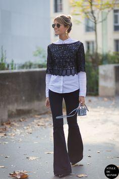Paris FW SS15 Street Style: Helena Bordon