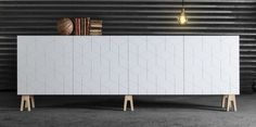 BESTA cabinet from ikea gets a new front from superfront!