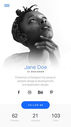 Time for some new UX & UI inspiration from modern web and mobile projects. Login Page Design, Site Web Design, Ui Ux Design, Profile App, App Design Inspiration, Mobile Ui Design, Ui Web, User Interface Design, Graphic