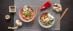 Πικάντικα sesame noodles με κοτόπουλο Food Porn, Sesame Noodles, Japchae, Chile, Tacos, Pasta, Ethnic Recipes, Drink, Food Food