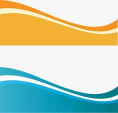 Vector dynamic wave, Orange, Blue, Creative Business Card PNG and Vector