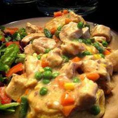 Slow Cooker Chicken Pot Pie Stew | What2Cook