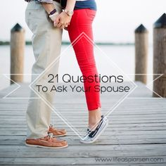 21 Questions to Ask Your Husband