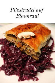 Strudel, Fall Recipes, Whole Food Recipes, Veggie Dinner, What To Cook, Pulled Pork, Soul Food, Vegetarian Recipes, Bakken