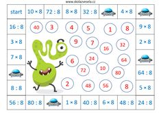 Division, Tricks, School, Teaching, Education, Maths, Inclusive Education, Folklore, Preschool Math Games