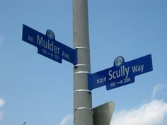 The intersection of Mulder Ave and Scully Way, Ottawa, Canada Who wants to move to Canada with me?!