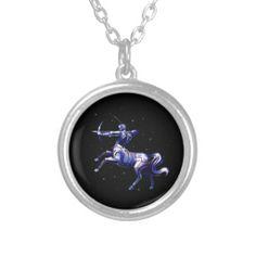 Sagittarius necklace