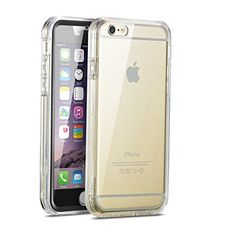 iPhone 6 Plus Case, New Trent Alixo 6L Rugged Transparent Case. [Scratch Resistant] [All Clear] for the iPhone 6 PLUS with 5.5 inch screen case. [Black + White Built-in Screen Protector Included] -**Anti-Scratch** New Trent http://www.amazon.com/dp/B00NF2RUTO/ref=cm_sw_r_pi_dp_7uXHub0YFHKA8