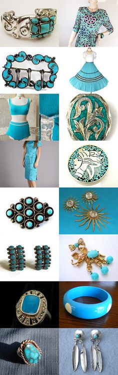 Turquoise Skies Of Teamlove Flash Pro  by Gena Lightle on Etsy--Pinned with TreasuryPin.com