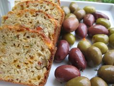 Cheese & Olive Bread for Appetizer