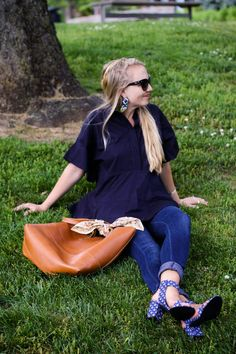 Image Via: The Chic Burrow in the Abilene Peplum Top